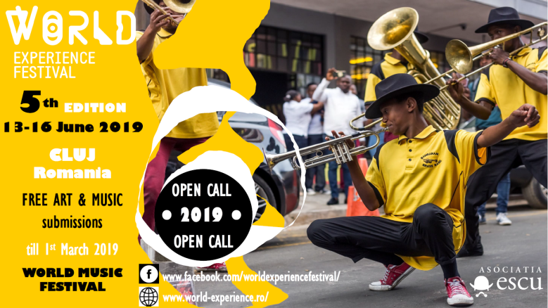 OPEN CALL FOR ARTISTS AT WORLD EXPERIENCE FESTIVAL 2019! – World